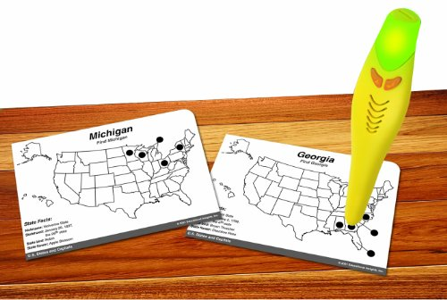 Educational Insights Hot Dots U.S. States & Capitals