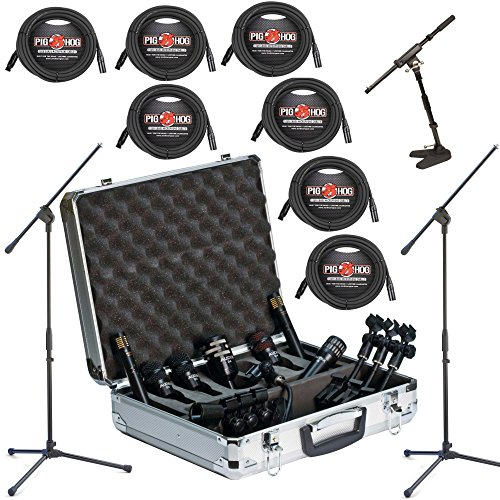 Audix DP7 7 Piece Drum Package DELUXE w/ Kick & Snare Mic