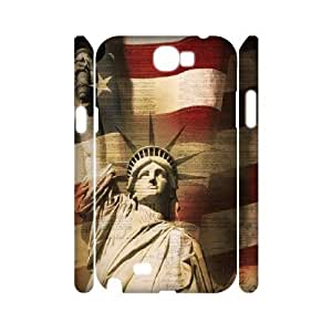 Retro American Flag 3D-Printed ZLB527245 Brand New 3D Phone Case for Samsung Galaxy Note 2 N7100 by Maris's Diary