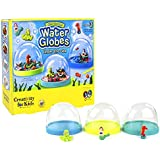 Creativity for Kids Make-Your-Own Under the Sea Water Globes - Includes 3 Water Globes - Teaches Beneficial Skills - Quality Construction - For Ages 7 and Up