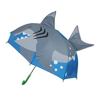dd03696900e45 Wustrious Children's Cartoon Umbrella, Rainproof Sunscreen Long Handle  Eight Bone Automatic Umbrella Ear Umbrella,