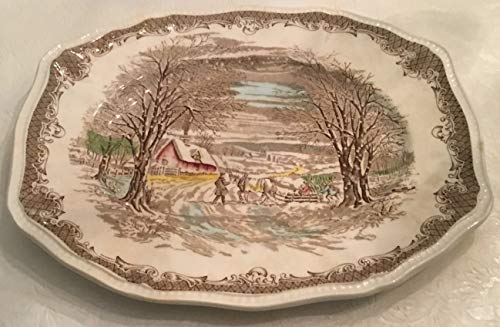 Vintage KENSINGTON Shakespeare's Sonnets Anne Hathaway's Cottage Serving Plate