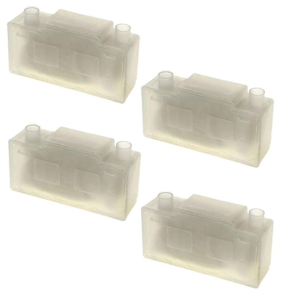 SPARES2GO Anti Scala cartuccia di filtro per Electrolux edbs920u ferro da stiro con generatore di vapore per ferro, confezione da 4)
