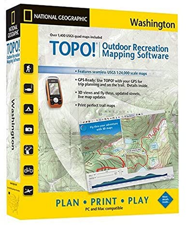 Amazoncom TOPO National Geographic USGS Topographic Maps - Us topogragphical map