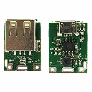 jing baobei 5 V amplificador junta, junta de protección de carga de la batería de