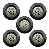 Youdw 5 PCS Digital Temperature hygrometers,Indoor