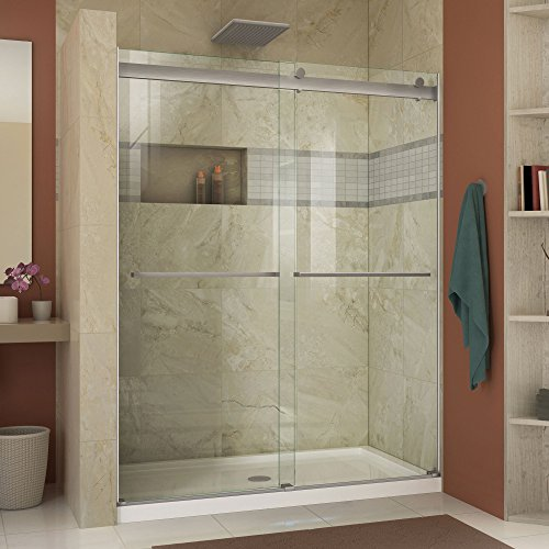 Frameless Bypass Shower Doors - 2