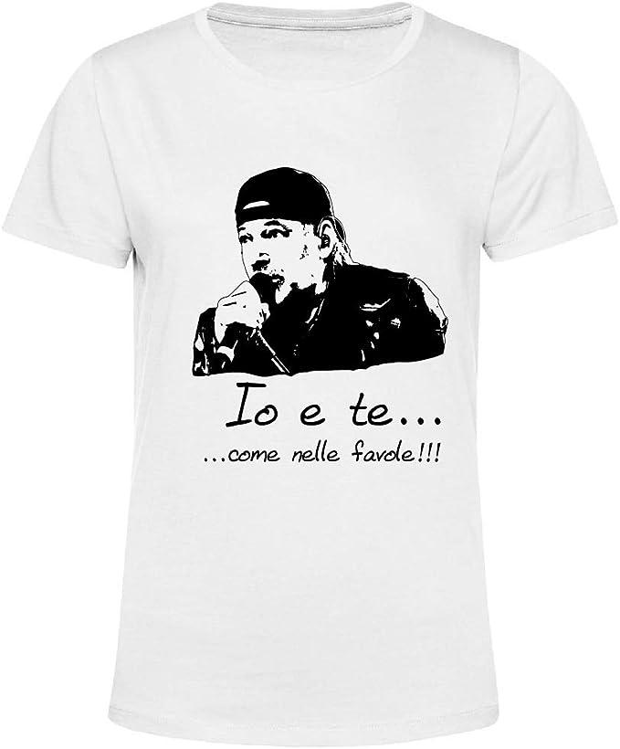 Art T shirt, Maglietta Vasco Rossi Favole, Donna