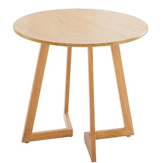 JHEY La Mesa de reuniones Redonda Simple y Moderna de la Oficina ...