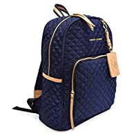 Adrienne Vittadini Quilted Backpack with 13 Inch Padded Laptop Deals