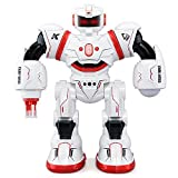 JJRC 2.4G Remote Control Combat Robot Intelligent Programming Gesture Sensing Robotics With Multi-Control Modes RC Robots Kit Toys Gift For Kids Preschooler Entertainment,by ECLEAR - Red