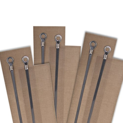 Replacement Kit For 8'' Impulse Sealer 2mm Sealing Width (6 Kits) by Jores Technologies