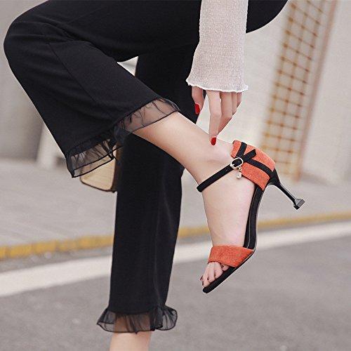 Open Hauts 1color Yalanshop Chaussures Talons D't Couleurs Assorties Des Sandales Good Avec R5OwqaH5