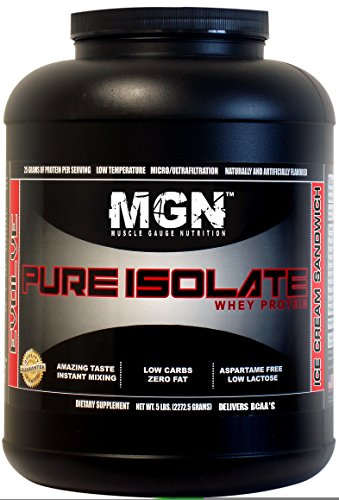 MGN Whey Protein Isolate 5lb Ice Cream Sandwich