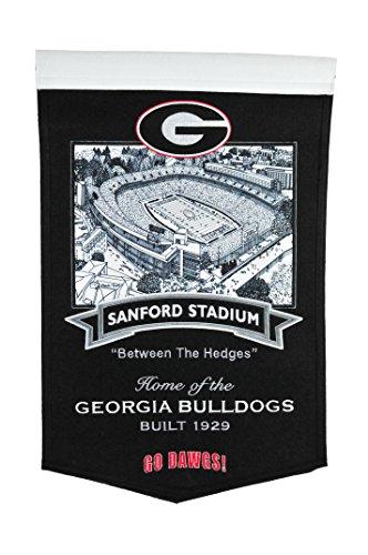 Georgia Stadium Sanford Bulldogs - Winning Streak NCAA Georgia Bulldogs Sanford Stadium Banner