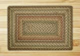 Earth Rugs 23-051 Rectangle Area Rug, 27 by 45″, Fir/Ivory Review