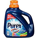 Purex Liquid Laundry Detergent Plus Clorox2 Stain Fighting Enzymes, Sunny Linen, 128 Ounce (71 Loads)