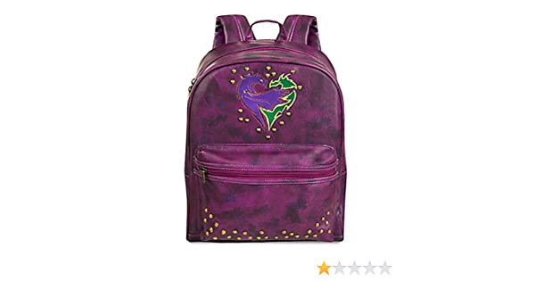 Amazon.com | Disney Descendants 2 Faux Purple Leather Backpack | Kids Backpacks