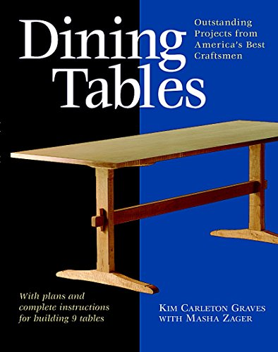 Woodworking Building Plans - Dining Tables: Outstanding Projects from America's Best Craftsmen (Furniture Projects)