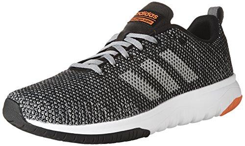 Adidas Neo Mens Jfr Superflex Löparsko Svart / Grå Tre / Sol Röd