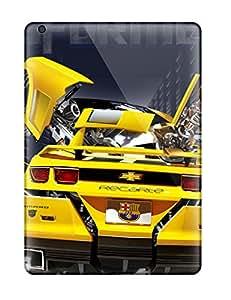 Ipad Air Bumblebee Print High Quality Tpu Gel Frame Case Cover