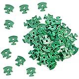 Clips de serre en plastiques, clips de fixation pour filet d'isolation de serre en aluminium, 100pièces