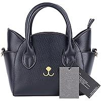 QZUnique Women's Top Handle Cute Cat Cross Shoulder Bag