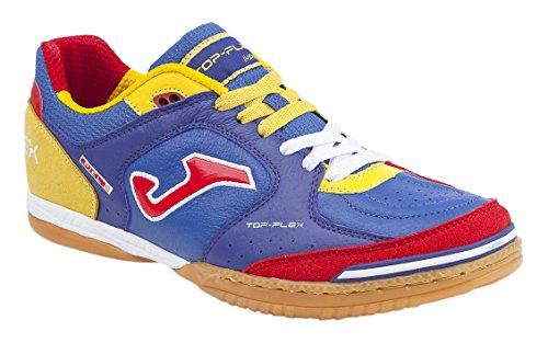unisex Rojo JOMA Zapatillas Amarillo de Top Flex Azul fútbol qXX07Cyw