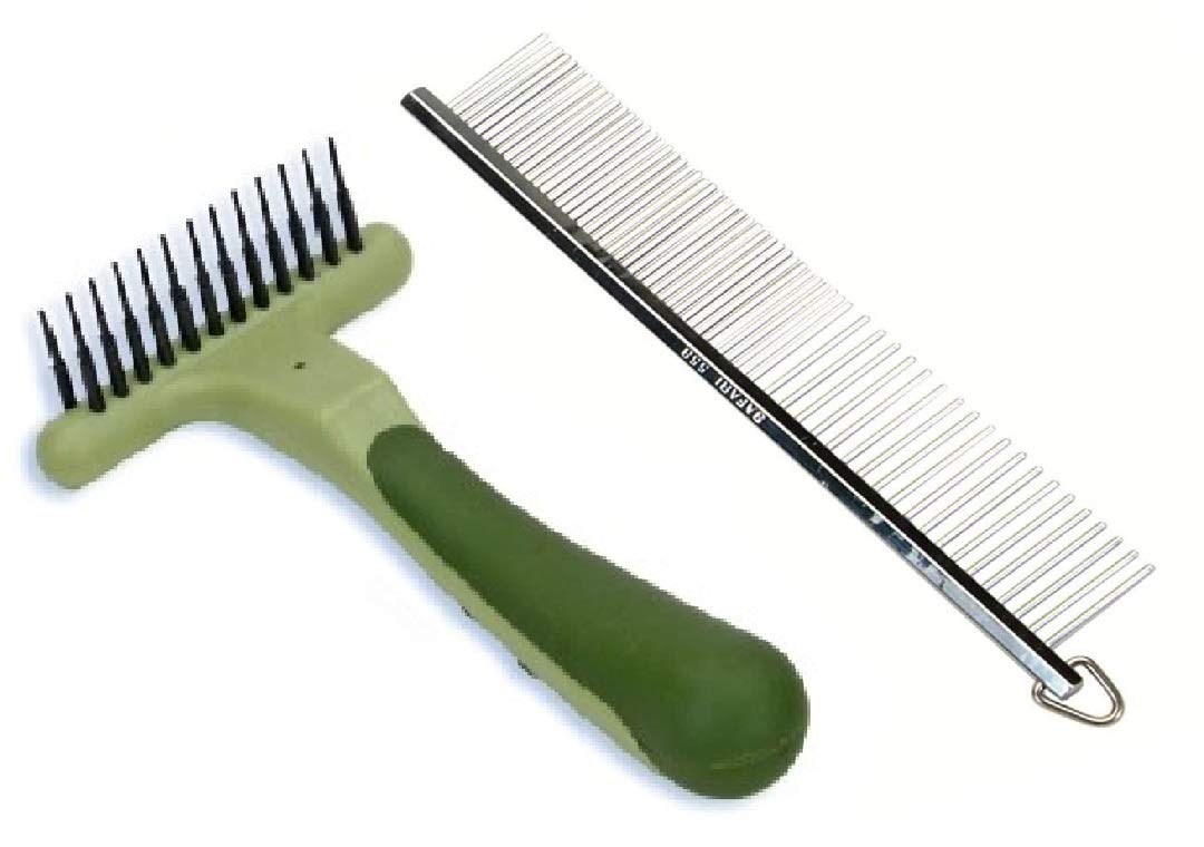 Coastal Pet - Safari Long Tooth Undercoat Dog Rake and Comb for Dogs, Designed for Breeds with Medium Undercoats