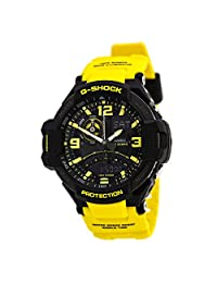Casio Men's G-Shock GA1000-9B Yellow Resin Quartz Watch