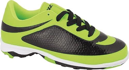 outlet store 4e3e6 dc456 Vizari Infinity TF - Zapatillas de fútbol para Hombre, Verde Negro, 6.5 M