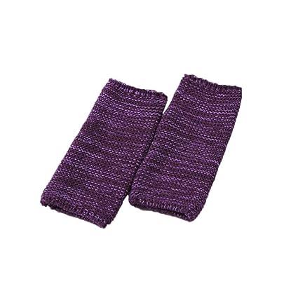 LeKing Calcetines de Punto para los pies, Calcetines Protectores Deportivos para Las piernas, Calcetines