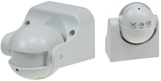 HF – Detector de movimiento de alta frecuencia Microondas sensor 180 ° LED Adecuado IP44,