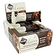 NuGo Nutrition - Slim Bars Box Brownie Crunch
