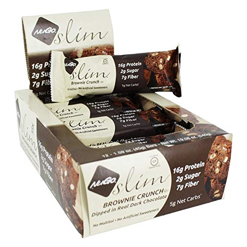 NUGO Brownie Crunch Bar Case, 1.59 OZ
