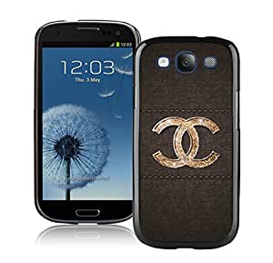Popular And Unique Samsung Galaxy S3 Case Designed With CHANEL Logo 44 Black Phone Case For Samsung Galaxy S3 Cover