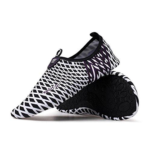 Chaussures yoga Black huichang rapide Surf Beach Aqua Chaussettes de unisexes à Eau séchage p5rC1qpZwx