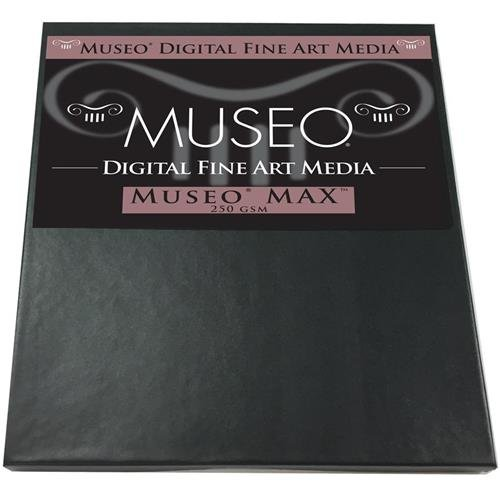 Museo Max Fine Art Archival Inkjet Paper for Digital Printing, Matte Surface, 250 gsm, 15 mil, 13x19