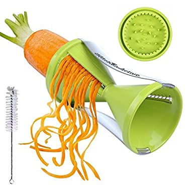 Kitchen Active Spiralizer Spiral Slicer, Green