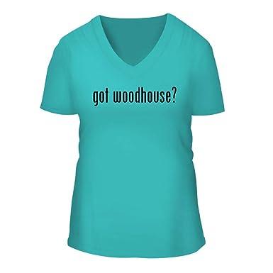 Amazon Com Got Woodhouse A Nice Women S Short Sleeve V Neck T