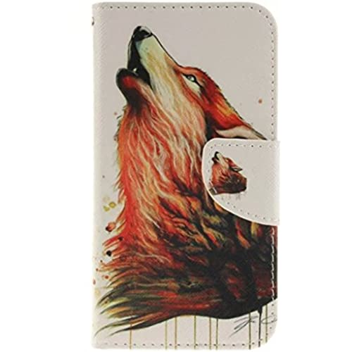S7 Case,Galaxy S7 Case,Yourfairy [Kickstand Feature] Built-in Credit Card Luxury Wallet PU Leather Folio Wallet Flip Cover Case for Samsung Galaxy S7 Case [Wolf] Sales