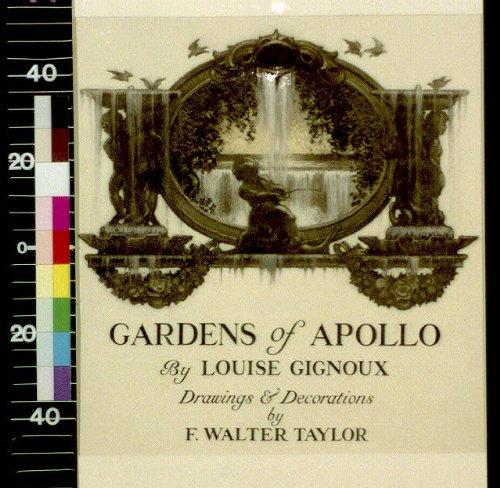 (HistoricalFindings Photo: Waterfall,Cherub,Fountains,Gardens of Apollo,Frank Walter Taylor,1911?)