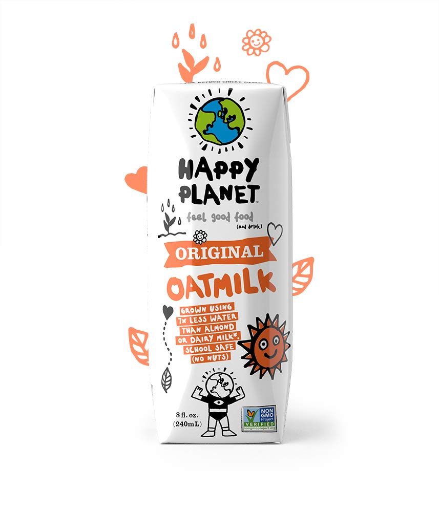 Happy Planet Oat Milk Original 8 oz Pack of 24 by Happy Planet (Image #1)