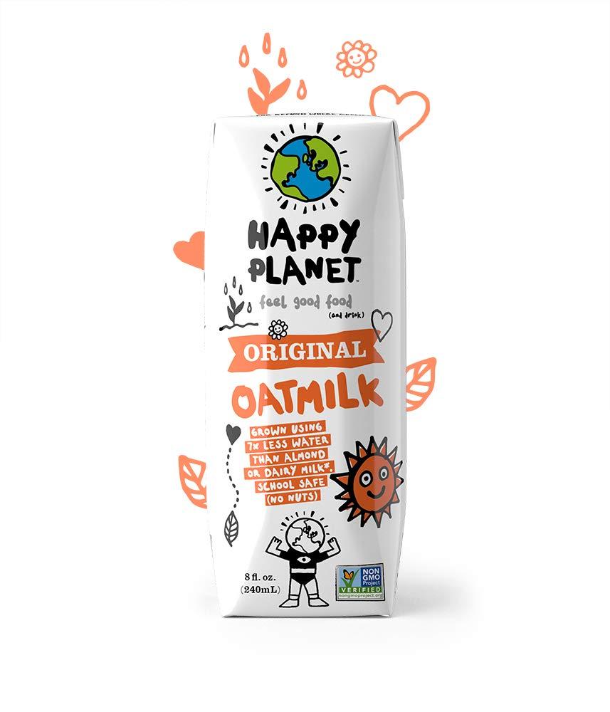 Happy Planet Oat Milk Original 8 oz Pack of 24
