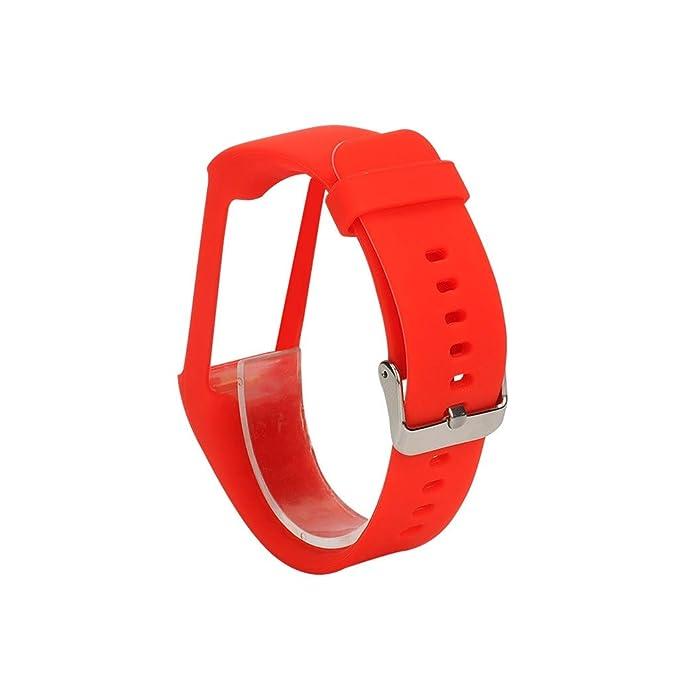 OUFENLI Correa de Reloj para Polar A370 Smart Watch, Pulsera ...