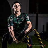 CompressionZ Men's Short Sleeve Compression Shirt - Athletic Base Layer Camouflage