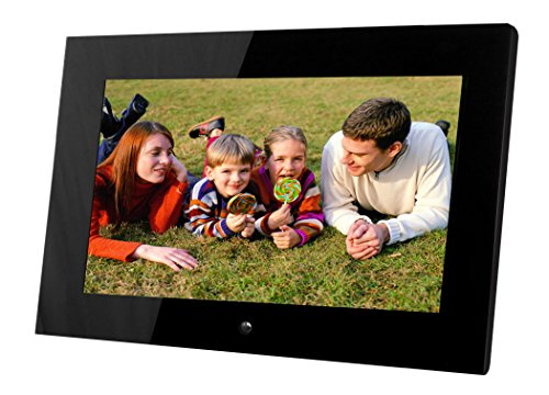 14'' Digital Photo Frame, Hi-resolution, transitional effects, slideshow, interval time adjust - Large Screen Photo Frame by Sungale