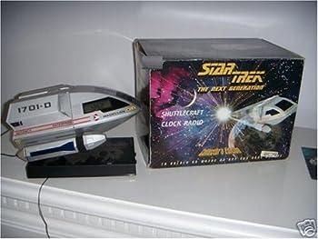 Star Trek the Next Generation Shuttlecraft Clock Radio