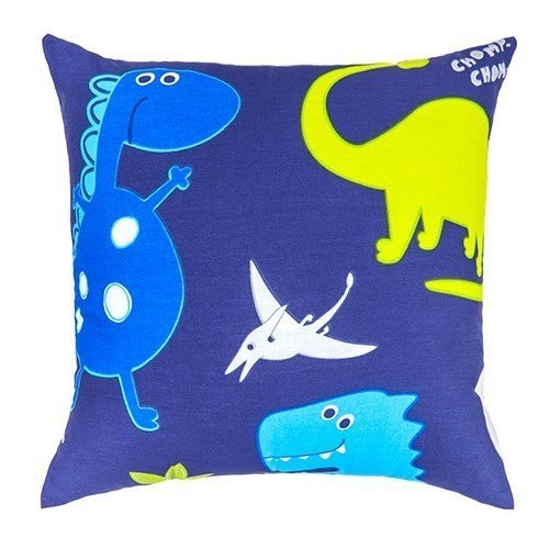 Children's Dino in the Dark Ready Filled Scatter Cushion Kids Bedroom Playroom Accessories Shopisfy
