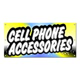 Cell Phone Accessories - Store Promotion Business Sign 5'x2' Banner